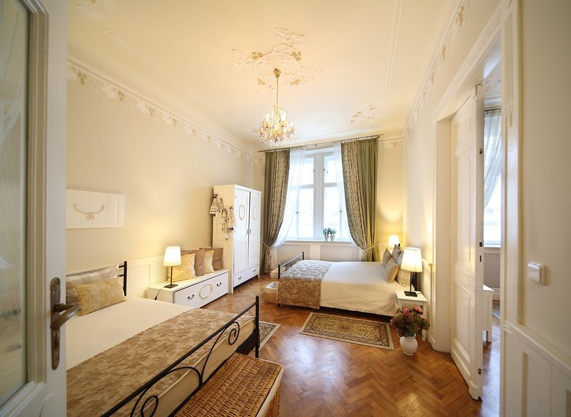 Double bedroom with king size beds