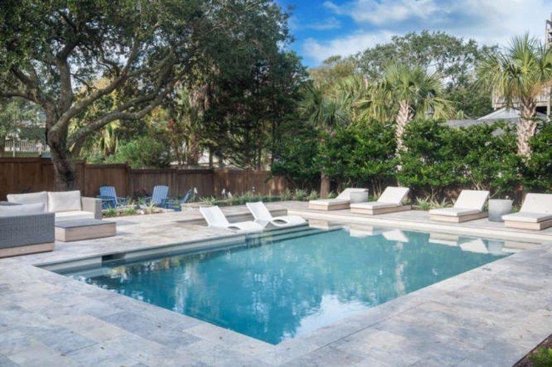 L'une des meilleures piscines sur l'île!