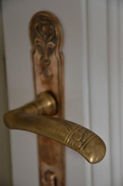 Restored original doorknobs