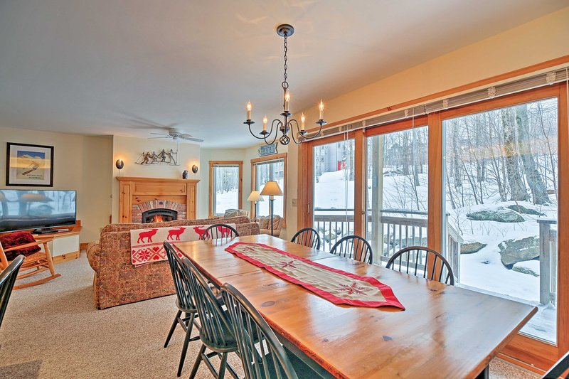 Begin your Jay vacation at this 3-bedroom, 3-bathroom vacation rental condo!