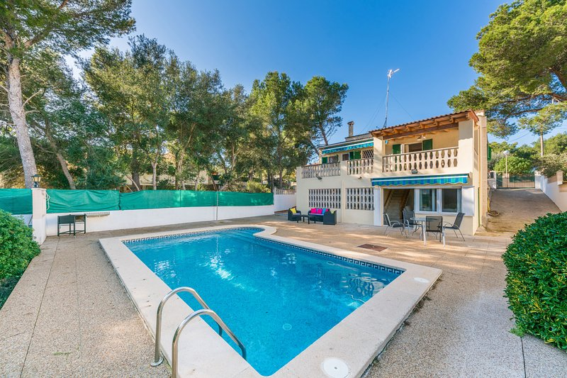 Villa Nest with private pool, vacation rental in Sol de Mallorca