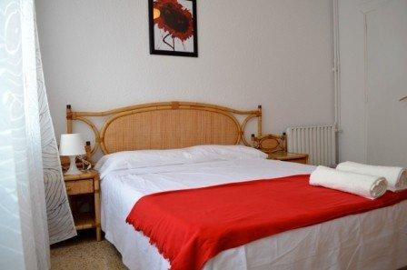 Bed & BCN Wohnung Barcelona Gran Via Schlafzimmer