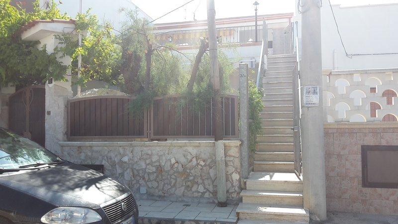 Outside / entry