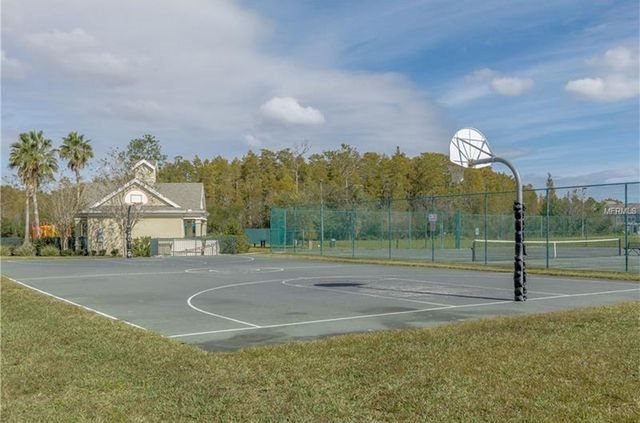 basketball, sand volleyball and tennis courts