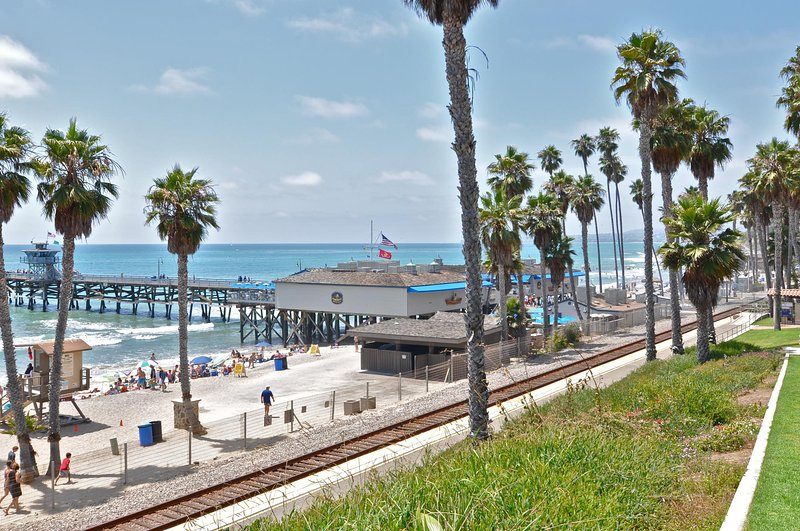 Walk down to the beach and pier every day!