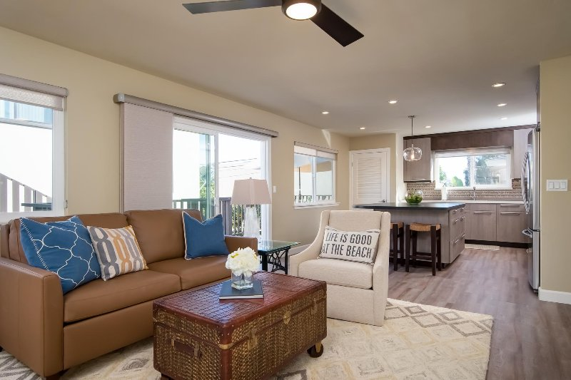 Welcome to Del Mar, a beautifully remodeled vacation rental in San Clemente.