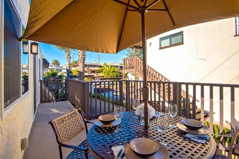 Enjoy the fresh air and warm Southern California breezes.