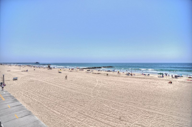 Even more incredible beaches are just a short drive away, like this beach on the Balboa Peninsula.