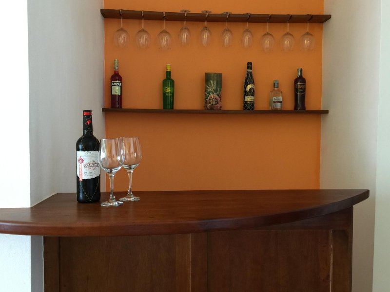 new bar, stock it yourself or have it stocked for your arrival!
