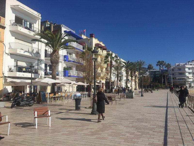 Playa San Sebastián metri piano