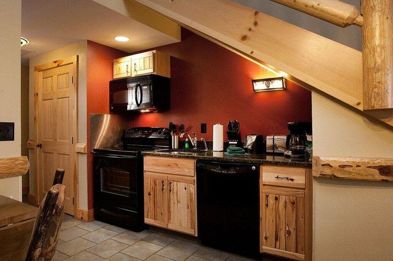 Préparez de délicieux repas dans la kitchenette équipée