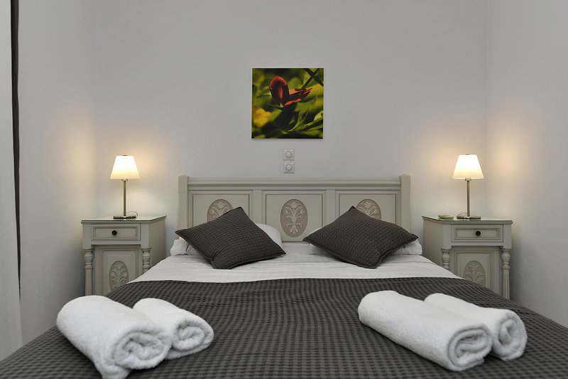 Superior Double Sea View Room, holiday rental in Naoussa