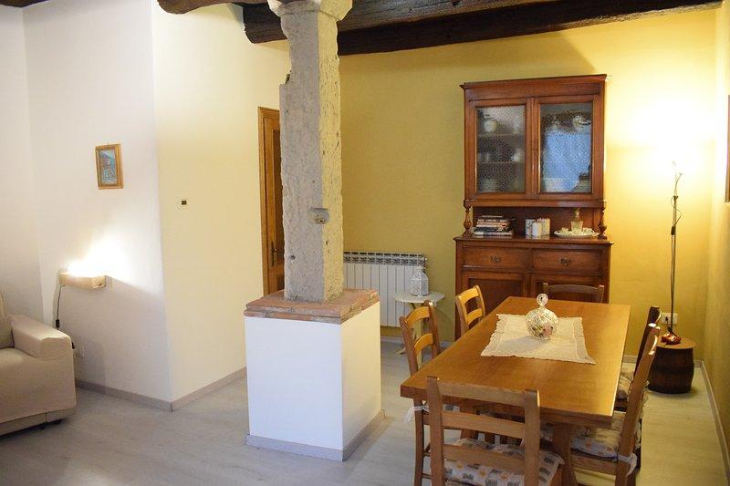 Holiday home La casina di Borgovcchio a few steps from the Arno river, holiday rental in Stia