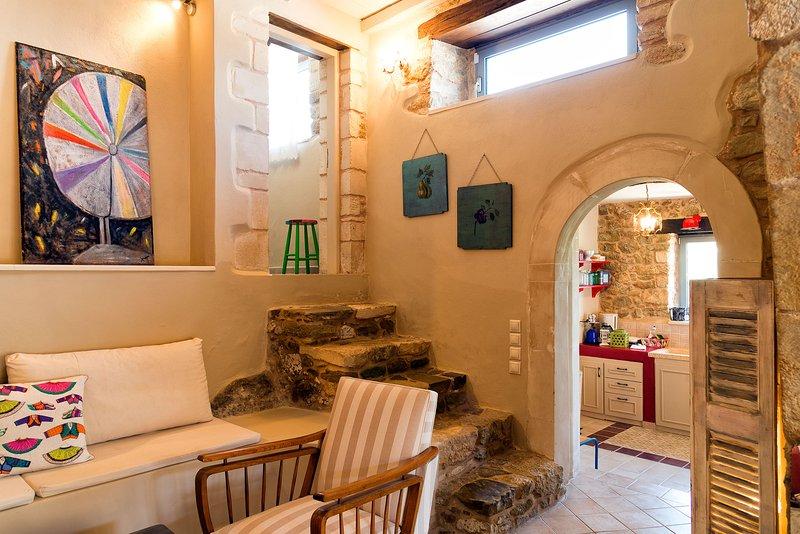 JOY - Cretan Rural Villa with Vintage Charm, aluguéis de temporada em Sitia