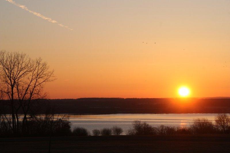 sunrise at Cobtree