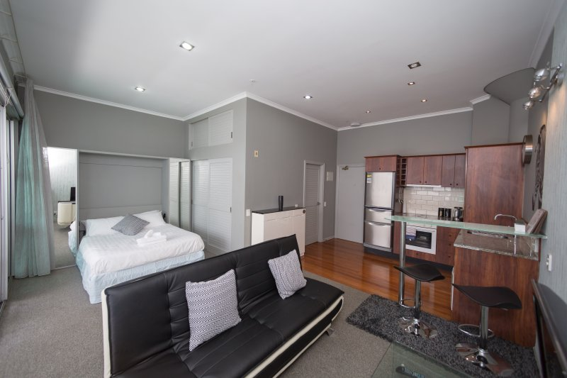 Large weekly and Monthly discount -  ✨Studio Apt in Auckland✨ Viaduct Harbor, 24, holiday rental in Birkenhead