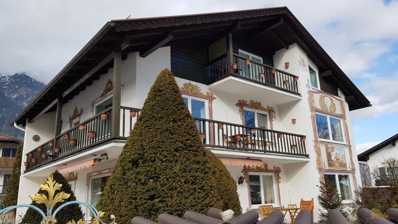 Ferienwohnungen am Fraßl's Biche - Wohnung Isar, casa vacanza a Garmisch-Partenkirchen