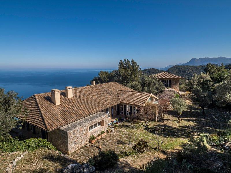 Stunning villa in Banyalbufar, location de vacances à Galilea