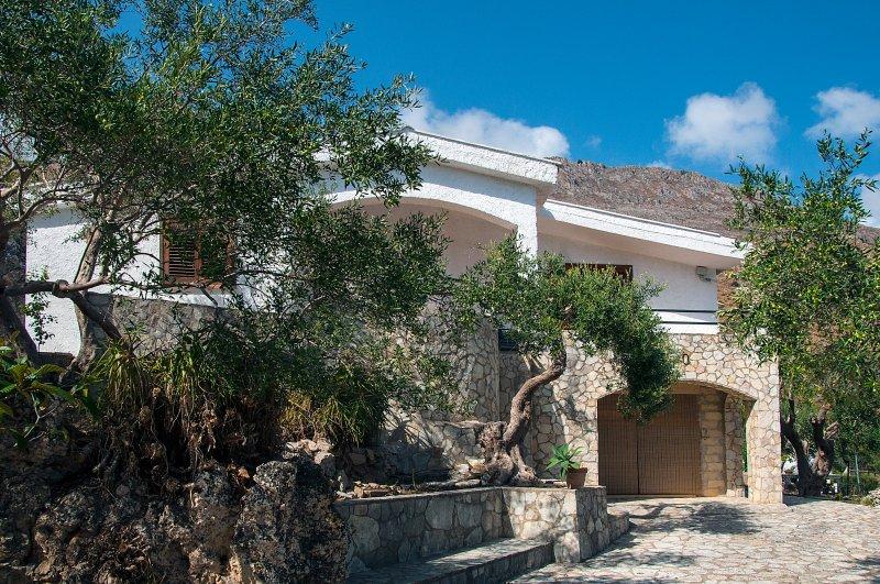 Villa Mediterranea, casa vacanza a Scopello