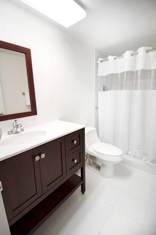 suite sono dotate di due bagni completi