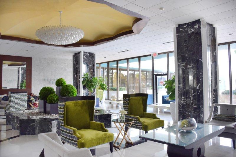confortevole hall con WIFI gratuito per gli ospiti