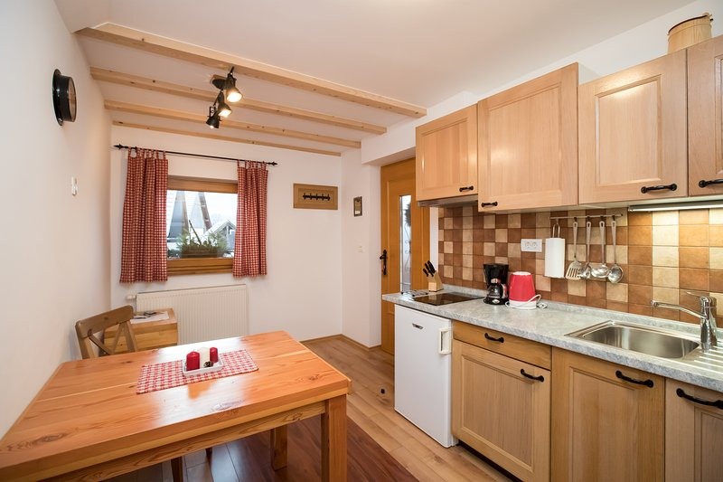 One-bedroom apartment for two, holiday rental in Bohinjsko Jezero