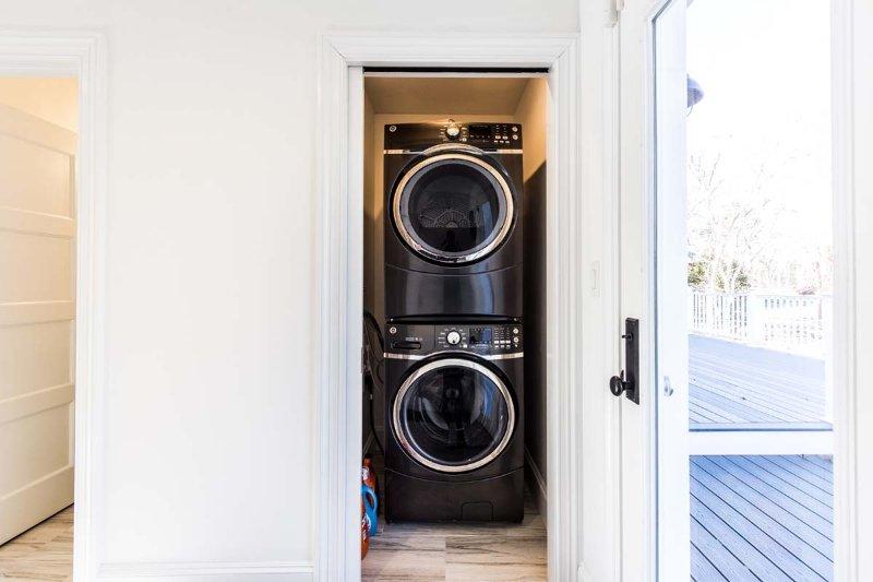 Área de lavandería en el Foyer