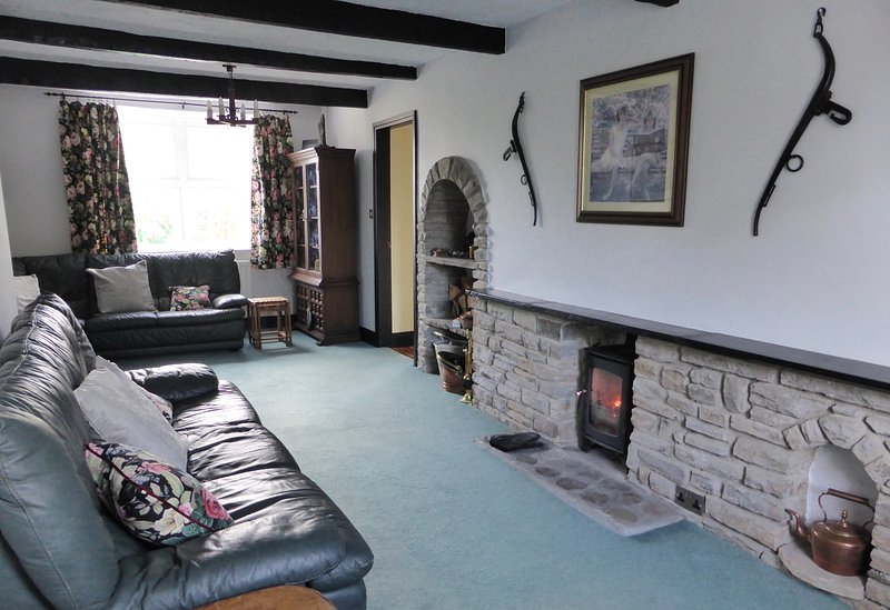 Living room with T.V. and super fast broadband throughout the property.