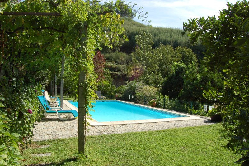 With private swimming pool and well kept and spacious lawned garden., location de vacances à Santa Marinha do Zezere