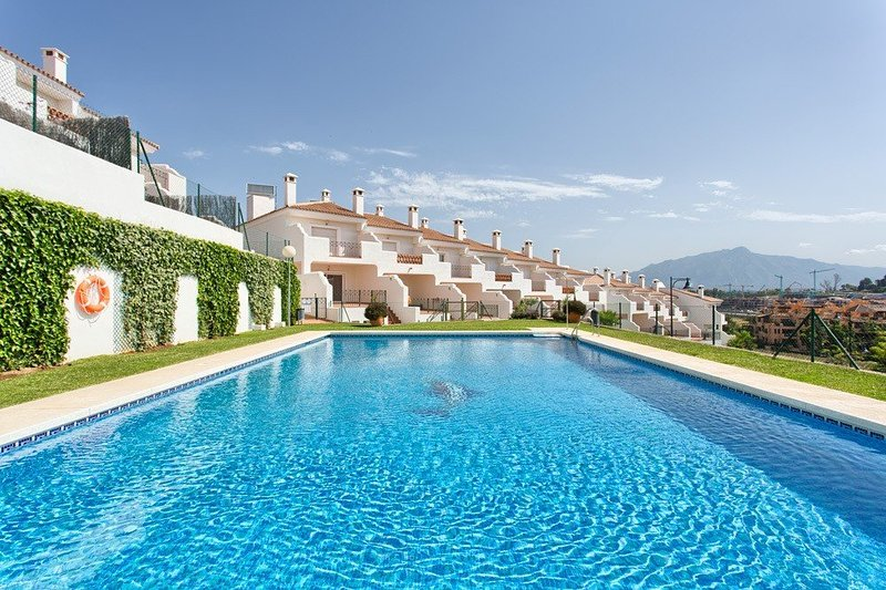 superb, secure and private development with a lovely pool