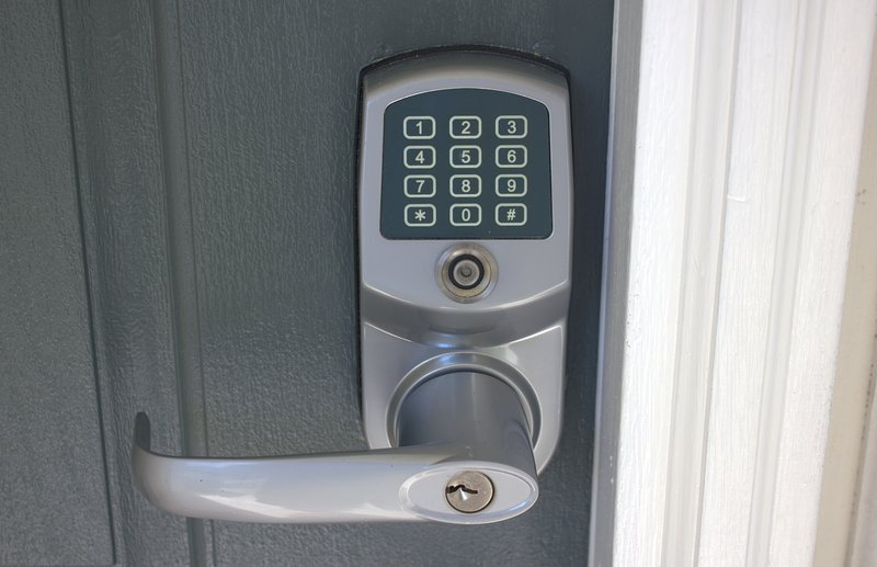 Keyless entry lets you go straight to the house, no need to check-in anywhere