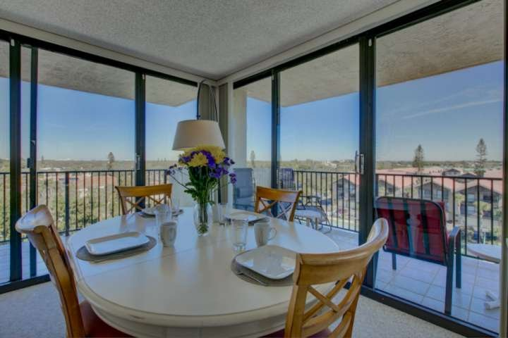 Soak in the amazing views from your dining room table!