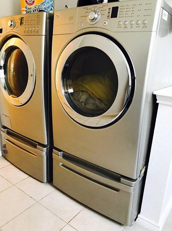 Quarto de lavanderia (no piso térreo)