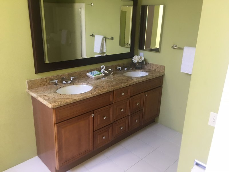 New cabinets and granite in all bathrooms and kitchen new led lighting through out