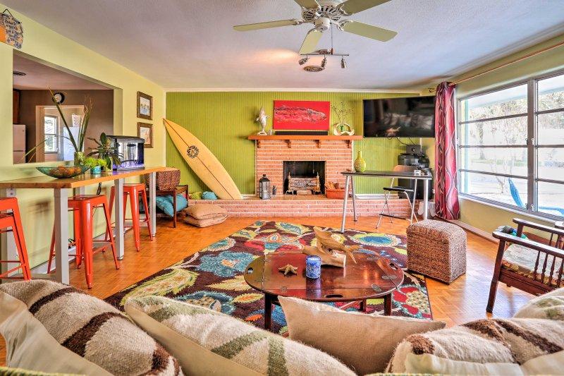 Réservez votre prochaine escapade en Floride à cette maison tropicale de Edgewater!