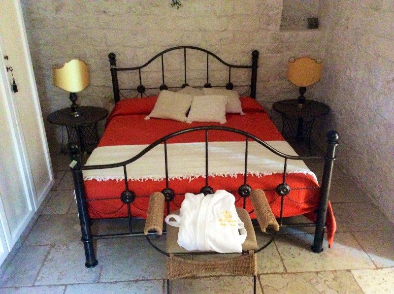 1 Schlafzimmer alter Trulli