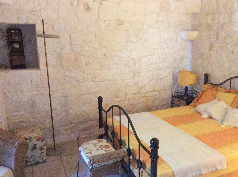 Doublebedroom 1 Trullo Antico mit wenig Wohn ensuite