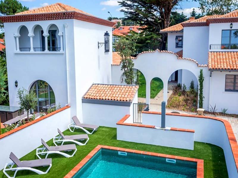 191124 3-bedroom villa, 350 mtr from the beach,centre 3 km, shared heated pool, vacation rental in Biarritz