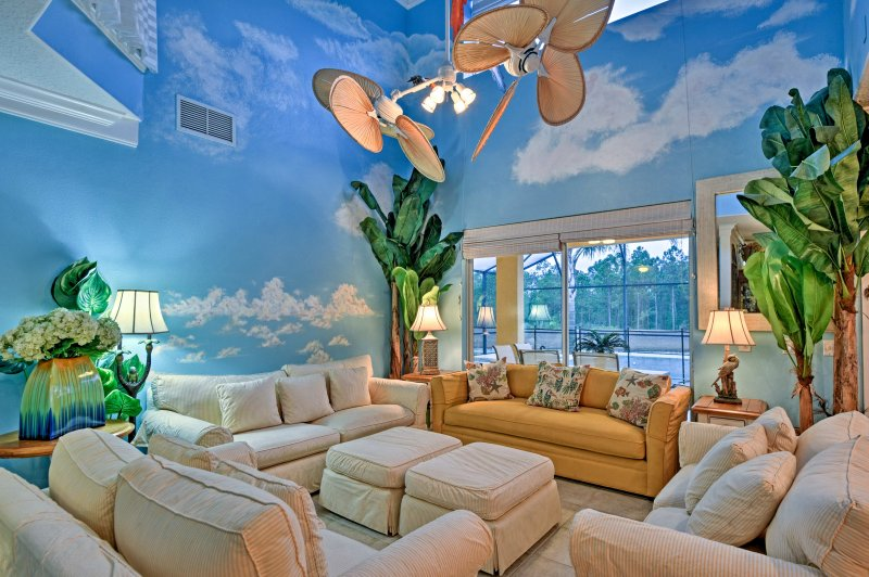 Explore Disney World when you stay at this unique themed vacation rental home!