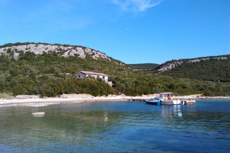 Two bedroom house Cove Kobiljak, Pašman (K-11391), casa vacanza a Mrljane