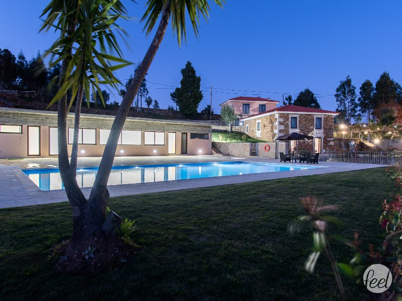Pool View and house view