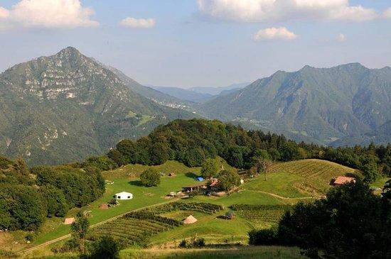 View of where the Roccolino, near the Cascine Company