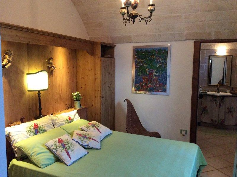 Doublebedroom 3 Grüne Lamia