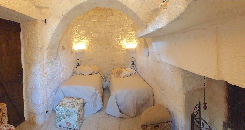 Twinbedroom 2 Trullo antico