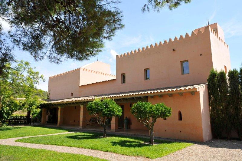 Villa arabica Eingang