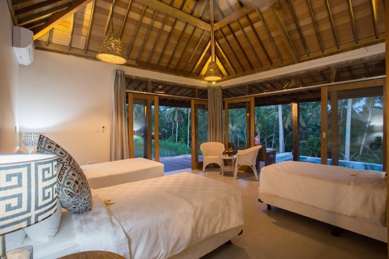 Villa at Ubud (Triple Room 1), holiday rental in Peliatan