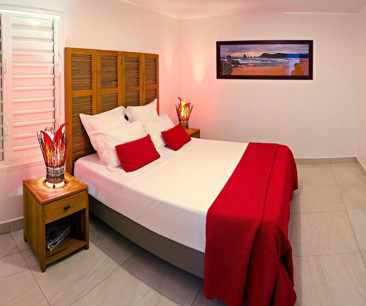 Passion : suite standing avec spa privé 1 chambre, vacation rental in Saint Francois