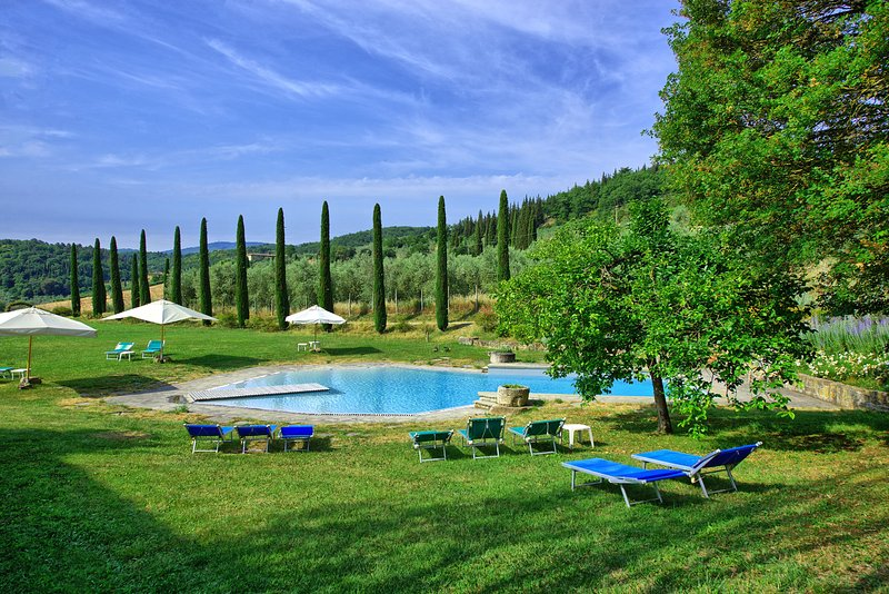 Celle Apartment Sleeps 6 with Pool and WiFi - 5241292, holiday rental in La Fornace