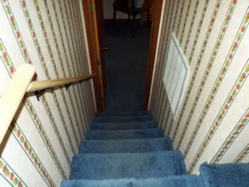 Stairway to lower level 2