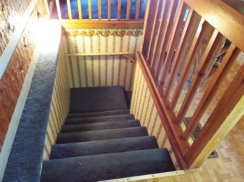 Stairway to lower level